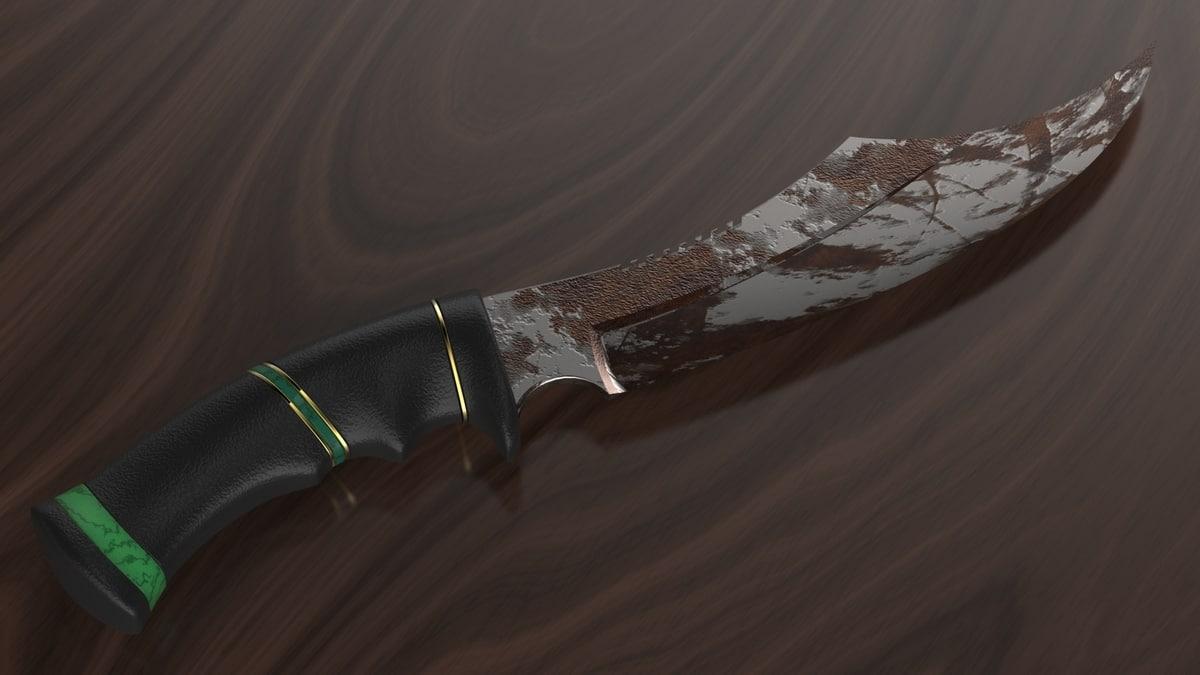 3dm knife dagger sword