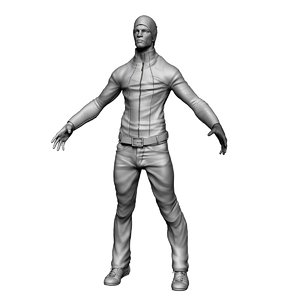 zbrush guy 3d 3ds