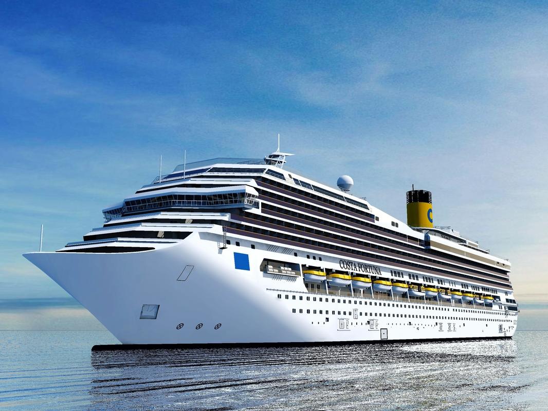 cruise ship costa fortuna 3ds