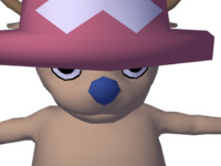 3d model tony chopper