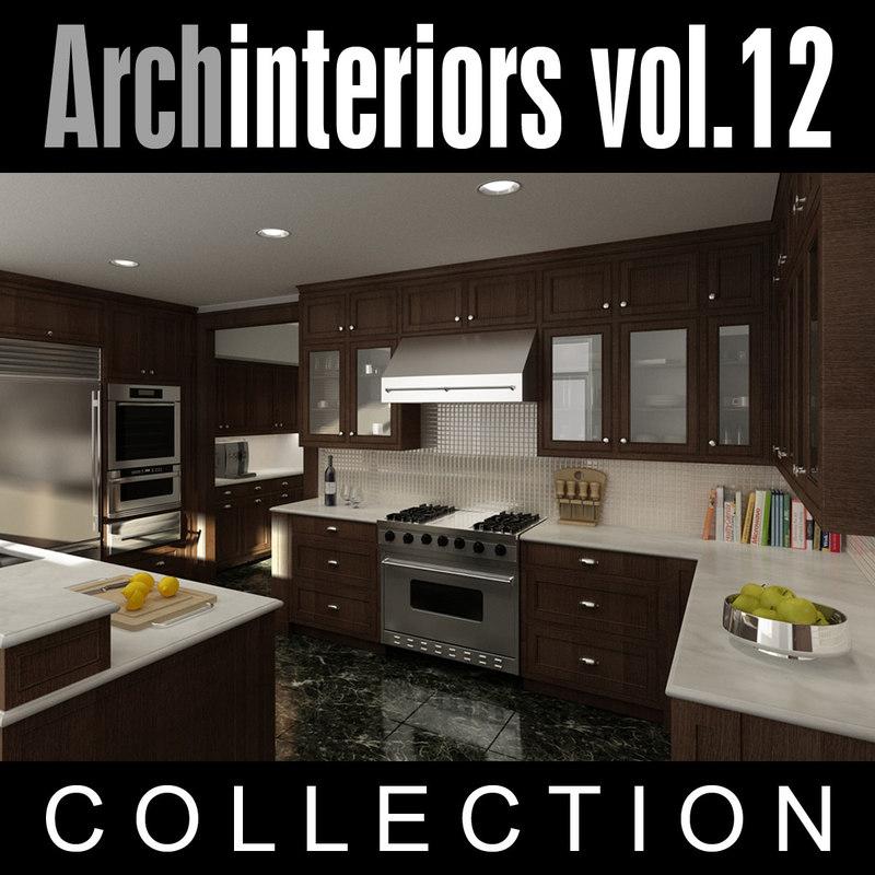 archinteriors vol 12 scenes 3d model