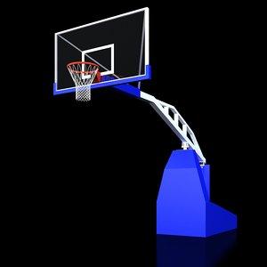 supersam basketball backstop max