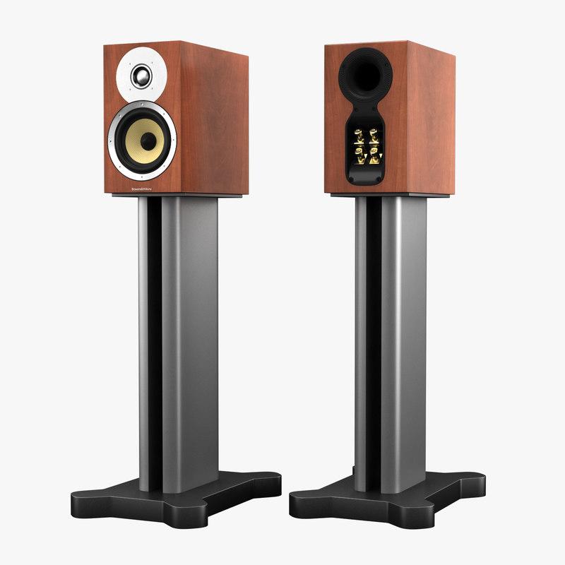 bowers wilkins cm speaker 3d obj