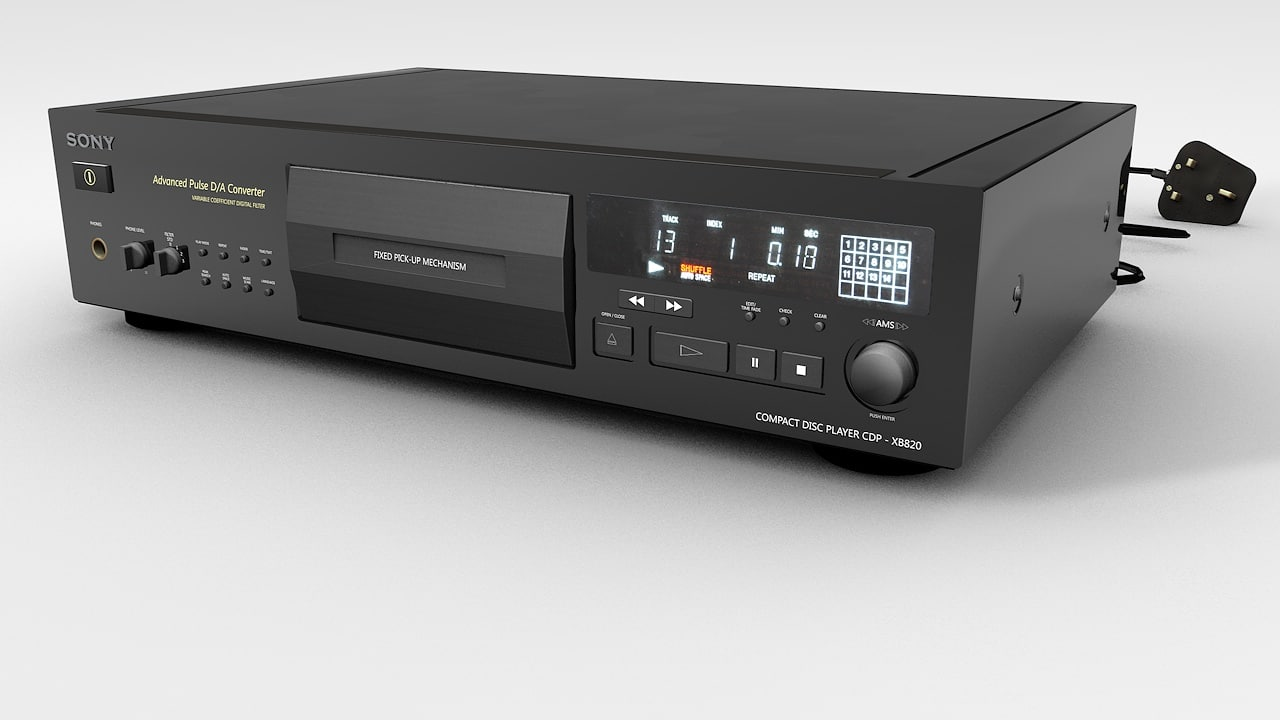 c4d cd player