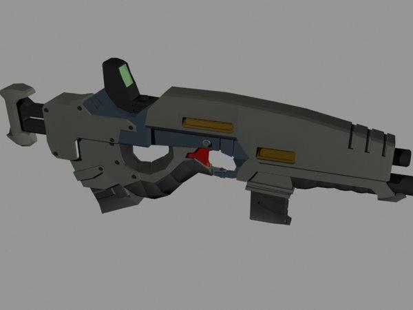 free max model rifle colapso