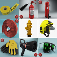 Fire Fighting Equipment Collection 2
