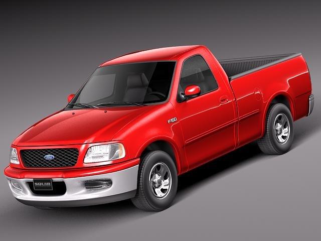 3d model v8 1997 pickup 2003
