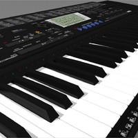 3d keyboard yamaha psr420
