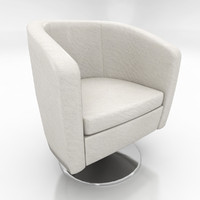 max leather bucket chair