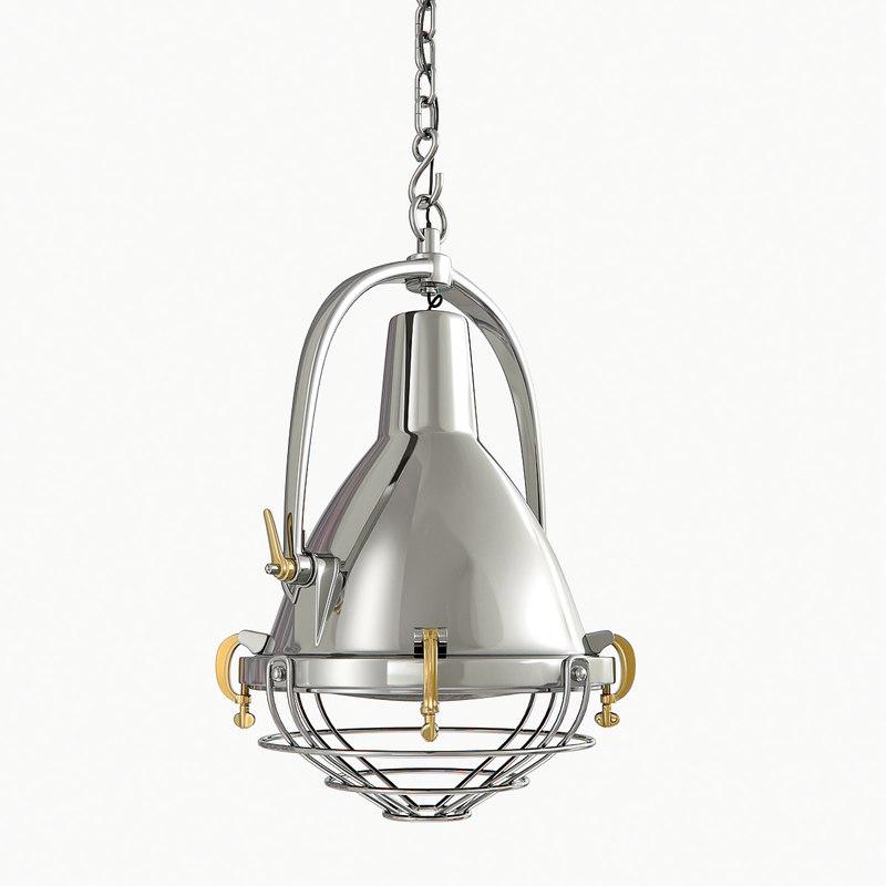 3d lamp condor model