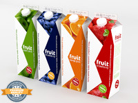 4 Juice Cartons