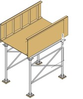 Sidewalk Shed Adjustable