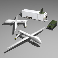 uav drone controlled station max