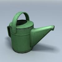 watering 3d max
