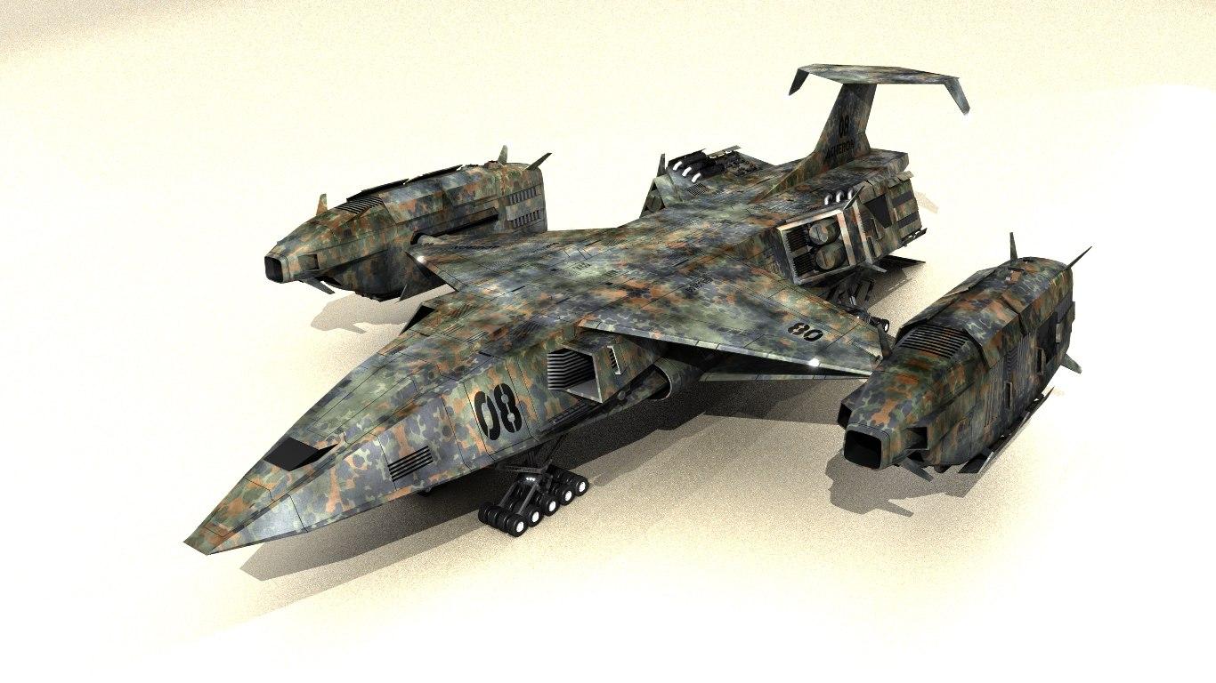akuma dropship space 3d 3ds