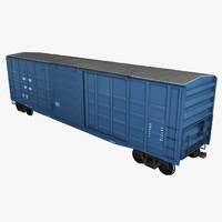 Freight Train Boxcar