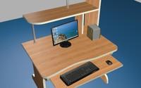 free computer 3d model