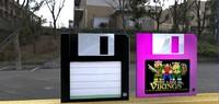 floppy 3d model
