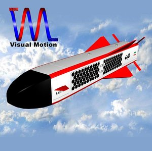 3d iranian 184 kite model