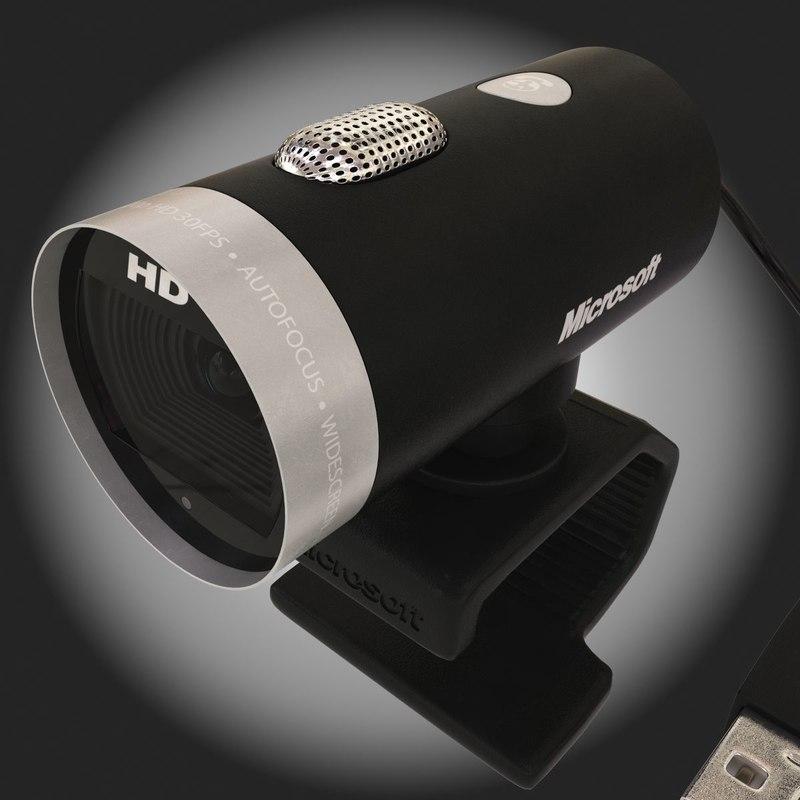 3d model microsoft lifecam