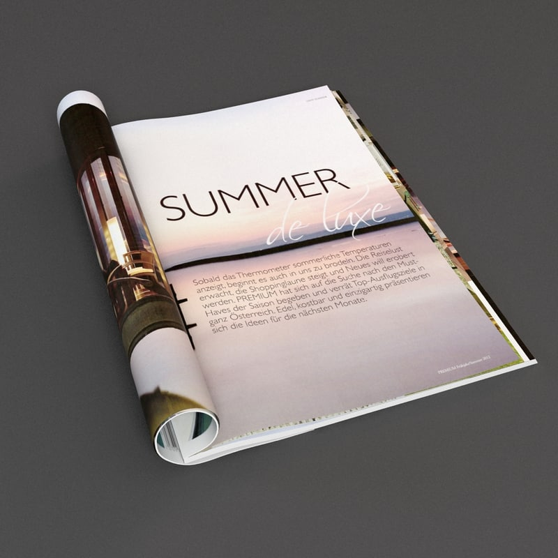 3d magazine pages