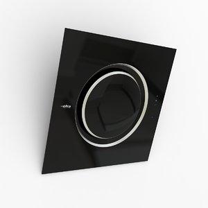 kitchen hood elica om 3d model