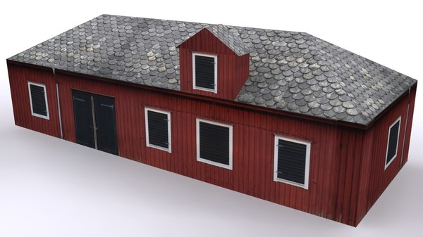 3d ranch house 1