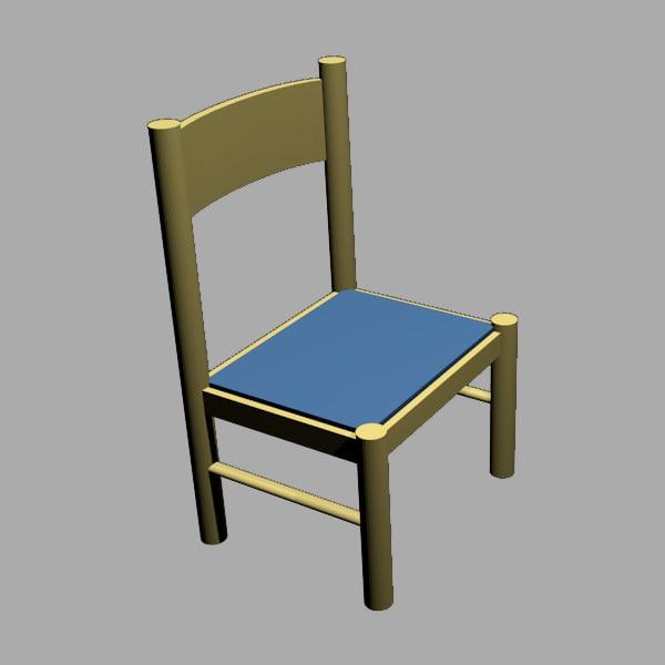 maya wooden chair