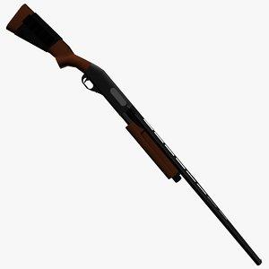 free remington 870 3d model