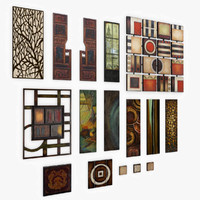 Decor Wall Panel Pack Game Ready