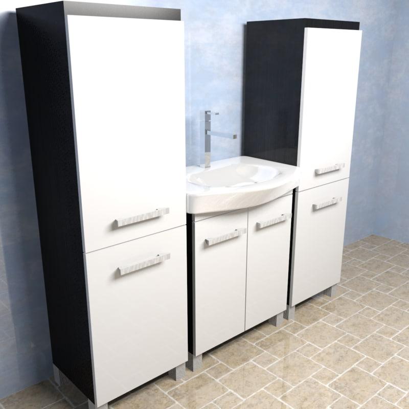 sink tap room 3d obj