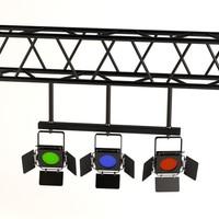 3d stage light