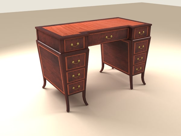 3d model of table victorian
