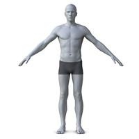 3d of man