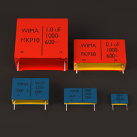 lwo wima box capacitors