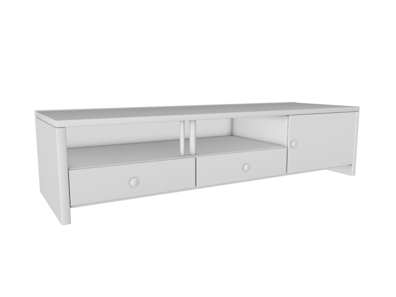 obj tv rack