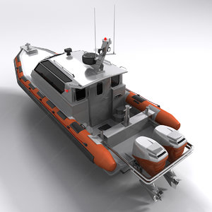 3ds military boat