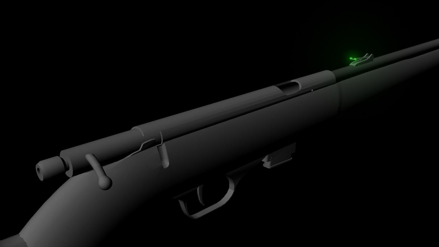 3d model rifle ready games