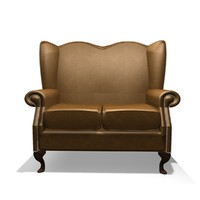 3d classic winged 2 seater