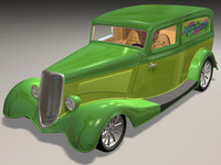 max 1934 delivery van hot rod