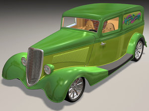 max 1934 delivery van hot rod