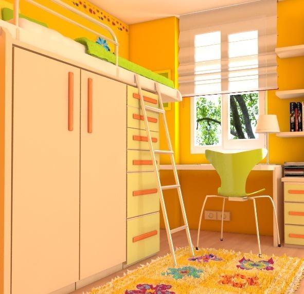 3dsmax children room