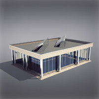 Modern Generic Building 011