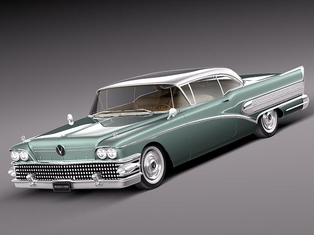 buick riviera special coupe 3d model