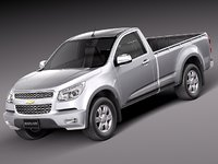 3d model chevrolet colorado 2012 pickup