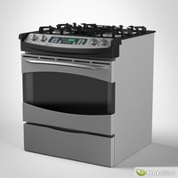 General Electric Gas Range Cooker