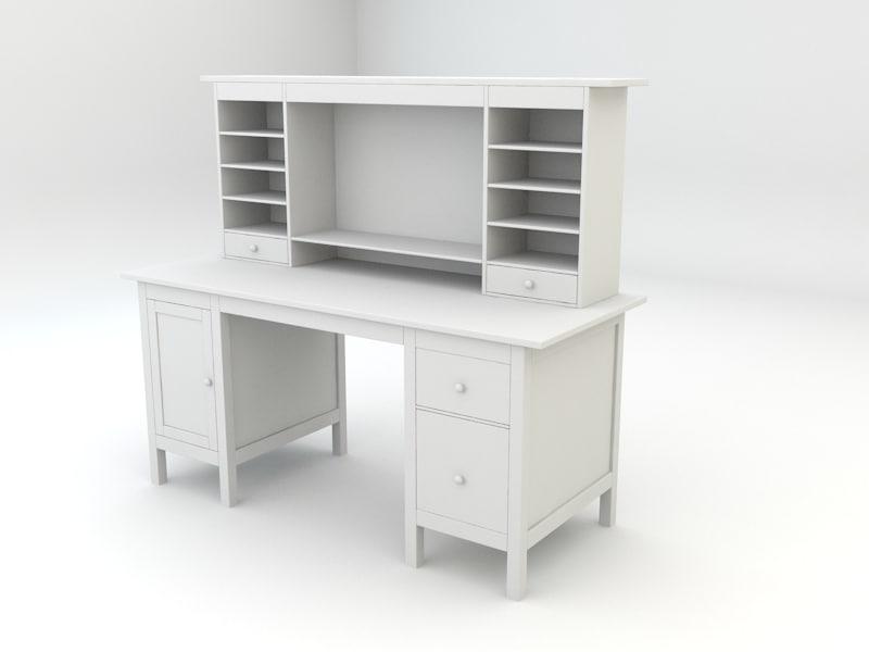 Max ikea hemnes workstation office desk
