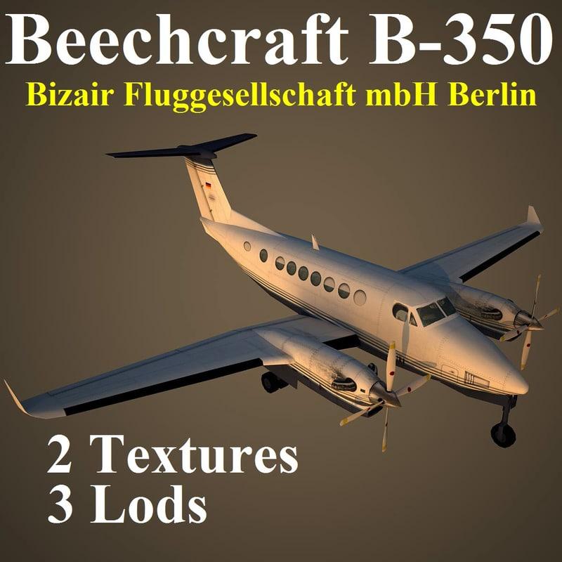 beech 350 bza max