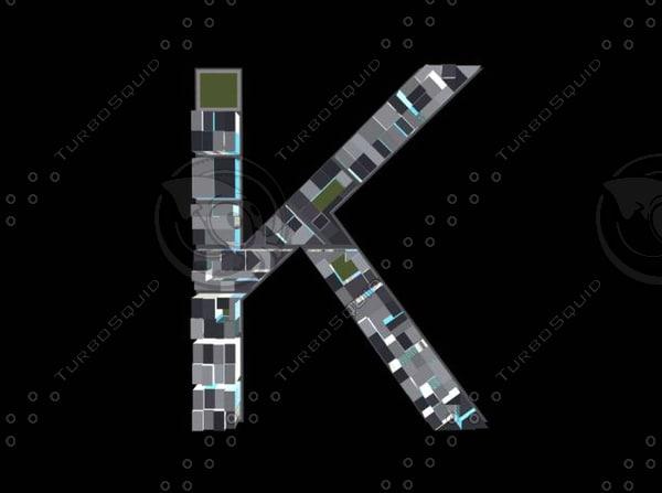 3d model town k