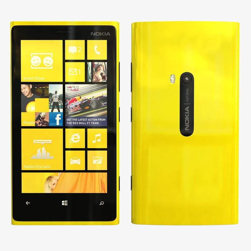 nokia lumia 920 3d 3ds